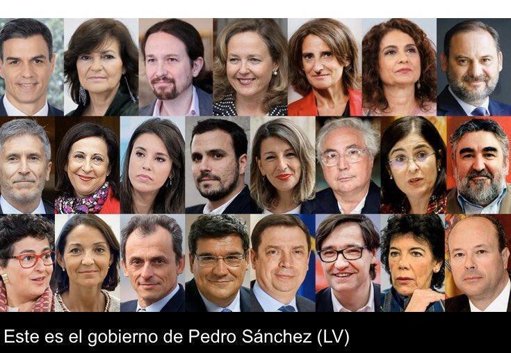 Coronavirus en España: El PP pide reducir el número de ministros
