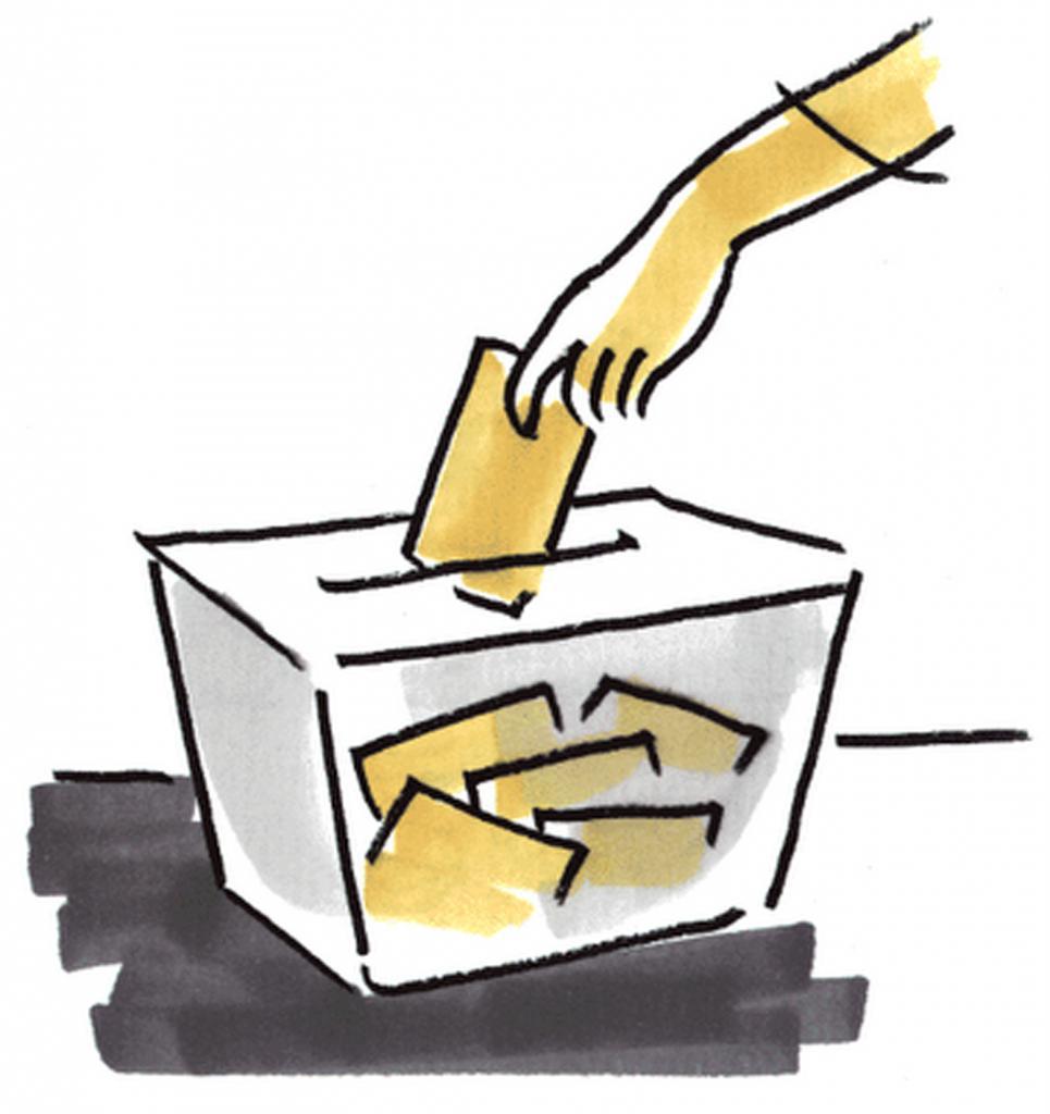 Resultado de imagen de urna votaciones dibujo